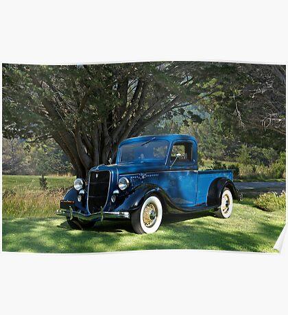 1935 Ford Pick-Up Truck Poster