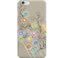 My Groovy Flower Garden iPhone Case/Skin