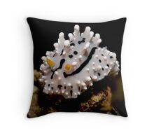 Nudibranch on a Rock Throw Pillow