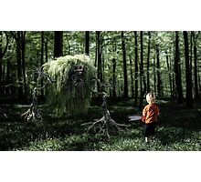 I Saw Something in the Woods Photographic Print