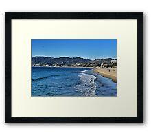Santa Monica Bay Framed Print