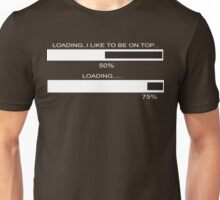 RAM Design I like to be on Top Plate #32 Unisex T-Shirt