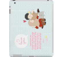 I Love You... iPad Case/Skin