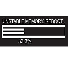 RAM Design Unstable Memory - reboot #50 by RandomMemory