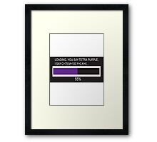 RAM Design Purple #49 Framed Print