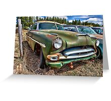 The Green Hornet Greeting Card