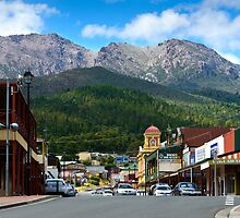 Queenstown, Tasmania by Chris  Randall