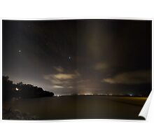 Across Trinity Inlet @ Night Poster