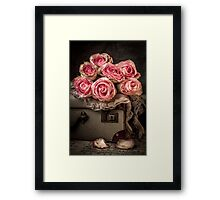 Vintage Beauty Framed Print