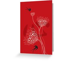 Yen Zhi Xing Hua Greeting Card