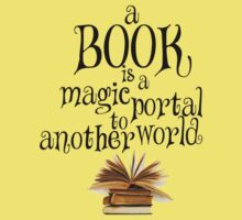 Book is a magic portal One Piece - Short Sleeve