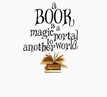 Book is a magic portal Tank Top