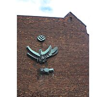 The Eagle On The Wall Photographic Print