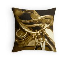 A Soldiers Campaign Memories Throw Pillow