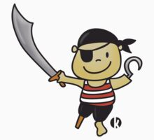 Little Cute Pirate with Sword by katelein