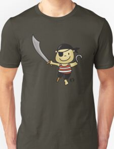 Little Cute Pirate with Sword T-Shirt