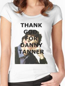 Thank God for Danny Tanner Women's Fitted Scoop T-Shirt