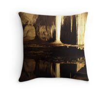 Lake Cave, Western Australia Throw Pillow