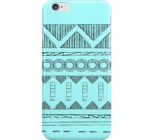 WE LOVE AFRICA BLACK iPhone Case/Skin