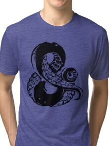 Octopus Ampersand  Tri-blend T-Shirt