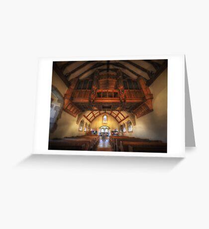 Hanging Organ Greeting Card