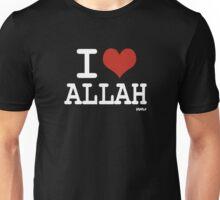 I love Allah Unisex T-Shirt