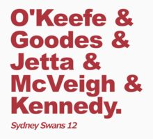 Sydney Swans 2012 by JR Collection