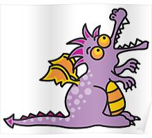 Magic Dragon :: Purple Poster