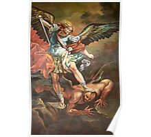 Angel at Taybeh Poster