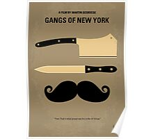 No195 My Gangs of New York minimal movie poster Poster