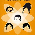 No196 My The Big Bang Theory minimal poster by Chungkong