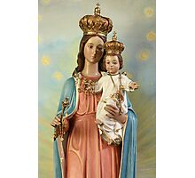 Mary Statue at Taybeh Village Photographic Print
