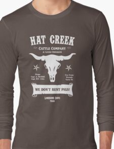 Hat Creek Cattle Company - Lonesome Dove Long Sleeve T-Shirt