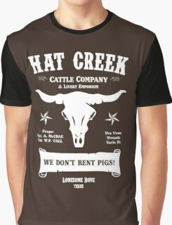Hat Creek Cattle Company - Lonesome Dove Graphic T-Shirt