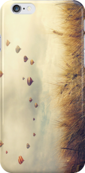 Vintage Landscape | iPhone Case by beautifulcards