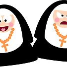 Two Nuns by Sonia Pascual