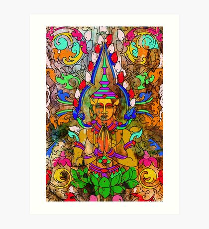 Cambodian Buddha Art Print