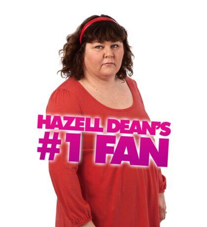 Hazell Dean's #1 Fan Sticker