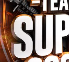 Team Super Cool Logo Sticker