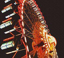 Berlin Ferris Wheel by mgardnerphotos