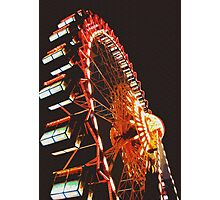Berlin Ferris Wheel Photographic Print
