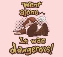 Dangerous to Go Alone Kids Clothes