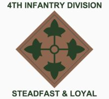 4th Infantry Division Kids Tee