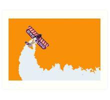 Breitling Plane Art Print