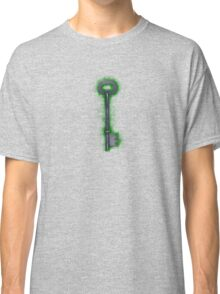 Painting of an old big key  Classic T-Shirt