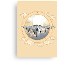 Sukhoi Jet Fighter  Canvas Print