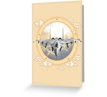 Sukhoi Jet Fighter  Greeting Card