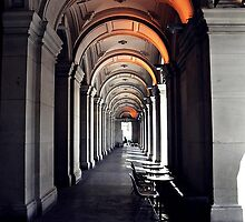 GPO Corridor... by Karen Camilleri by Shot in the Heart of Melbourne, 2013