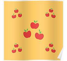 My little Pony - Applejack Cutie Mark V3 Poster