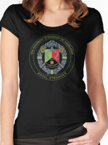 Foreign Legion 1 REC Women's Fitted Scoop T-Shirt